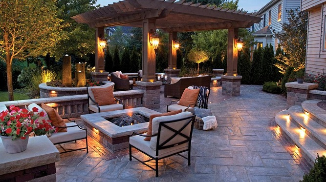 Image result for outdoor living space