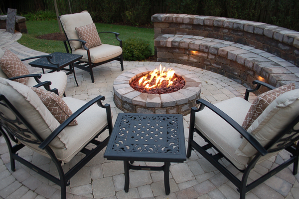 Buffalo Outdoor Living Fire Pit